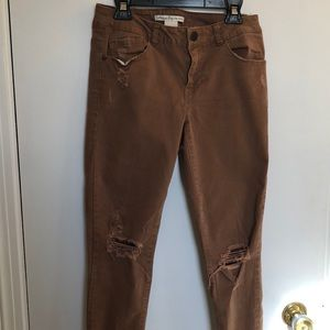 American Rag Cie Distressed Skinny Jeans size 3